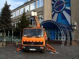 Автовышка Мерседес услуги в Кременчуге